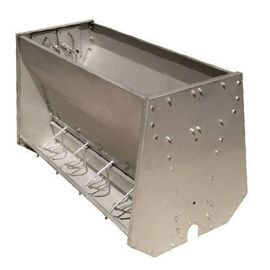 China Stainless Steel Double Sided Pig Feeding Trough , Pig Water Trough distributor